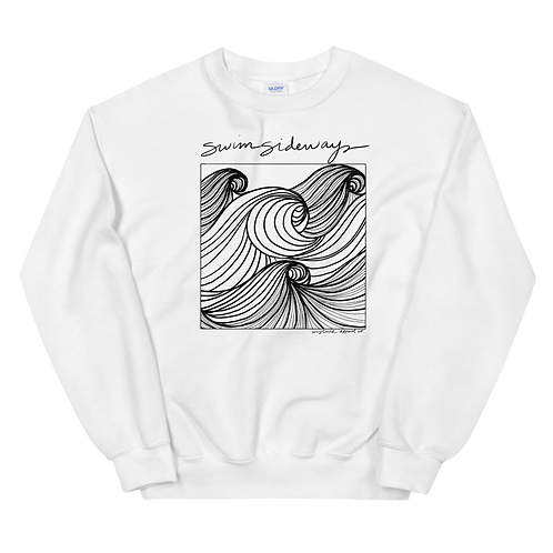 Swim Sideways Sweatshirt