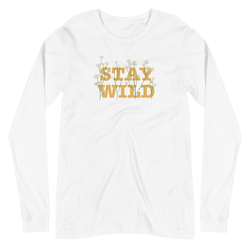 Stay Wild Long Sleeve Tee