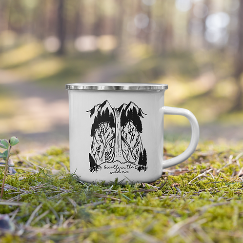 Wild Air Enamel Mug
