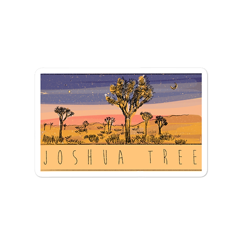 Joshua Tree Park Sticker