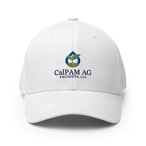 CalPam Embroidered Structured Twill Cap