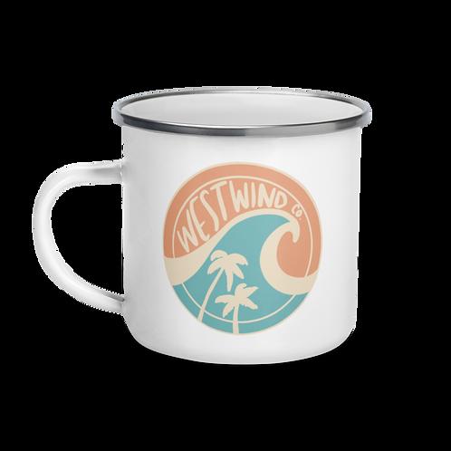 Westwind Co. Enamel Mug