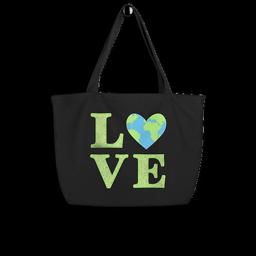 Love Earth Organic Tote bag