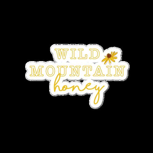 Wild Mountain Honey Sticker