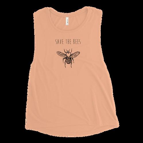 Save the Bees Ladies' Tank