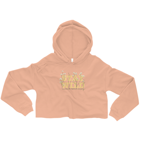 Stay Wild Ladies' Crop Hoodie