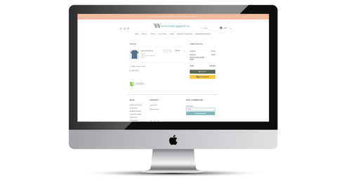 Westwind Checkout Page