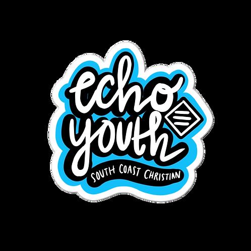 Echo Youth Street Art Sticker