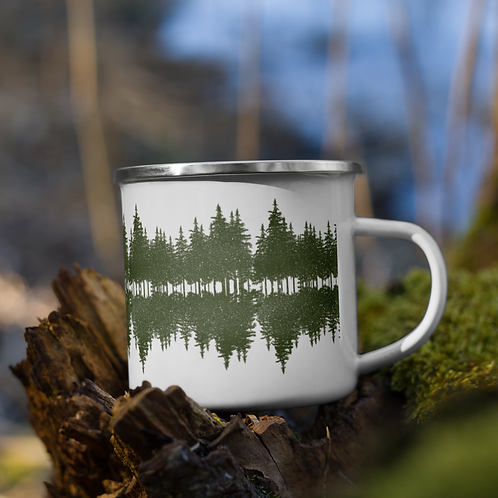 Reflections Enamel Mug