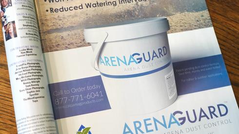 Arena Guard Magazine Ad