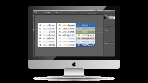 Arenaguard Logo Design