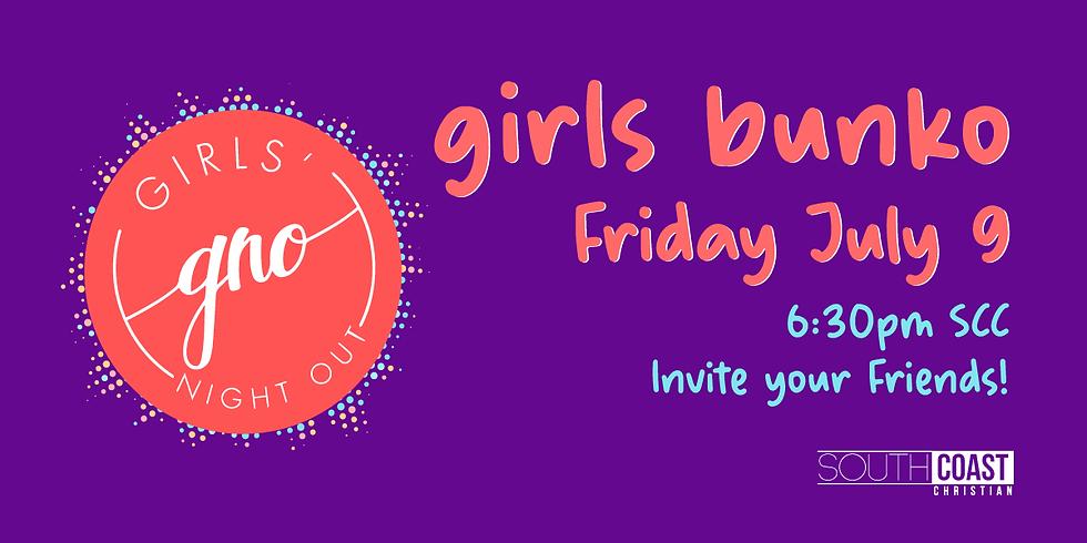 GNO | Girls Bunko Night