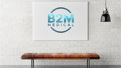 B2M Medical Wall Canvas Sign