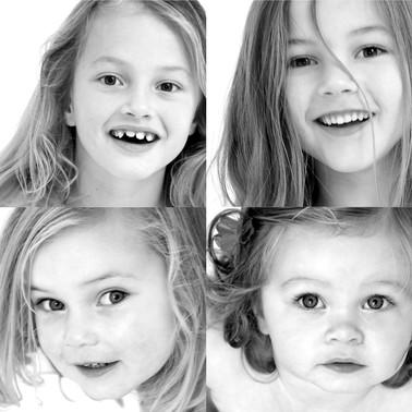 Mijn vier dochters en ik...