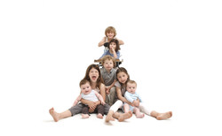 klein familieportret kidstudio