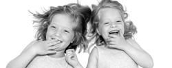 portretfoto zusjes kidstudio amsterdam