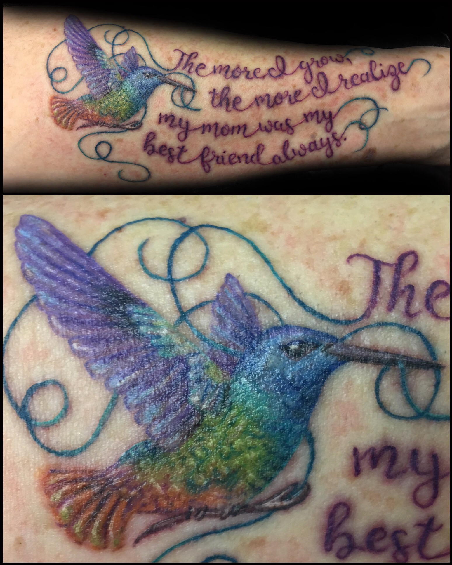 tattoo, tattoo shop, hummingbird
