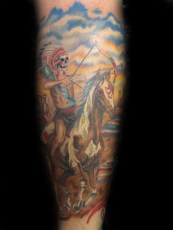 tattoo, tattoo shop, horse