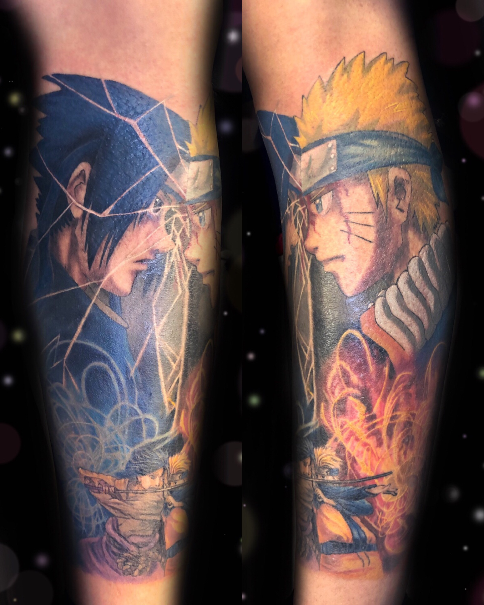 naruto anime tattoo