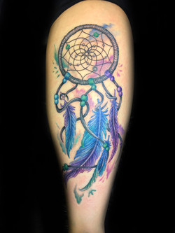 tattoo, tattoo shop, dream catcher