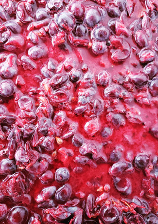 Crushed Wine Grapes