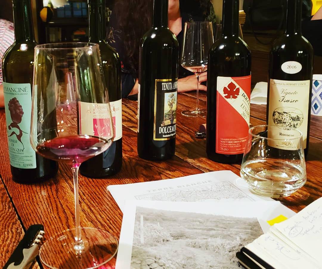 Rossese Wine Tasting