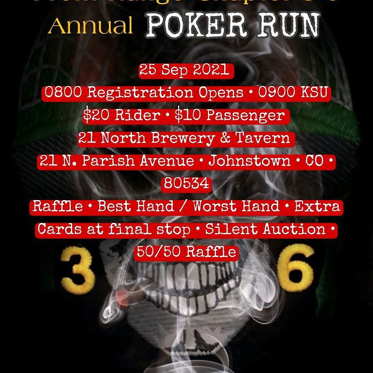 3-6 Annual Fall Poker Run