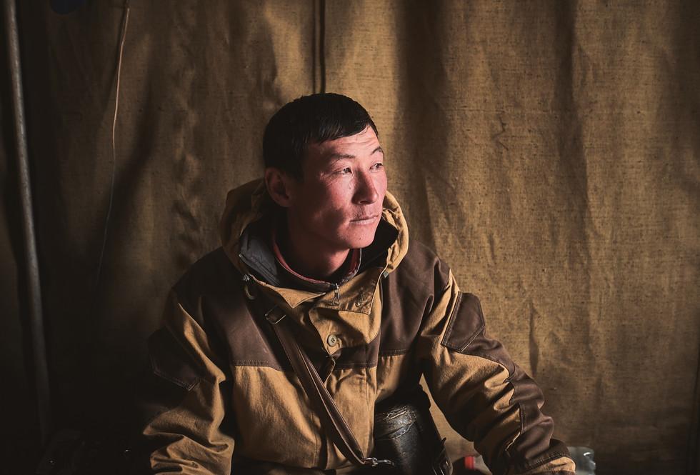 Nomade in Kirgisistan