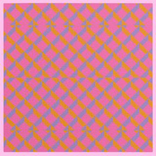 Pink & Lilac Argyle