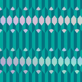 Teal Repeat Pattern