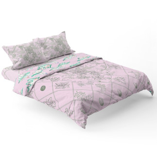 Anemone Bed Spread