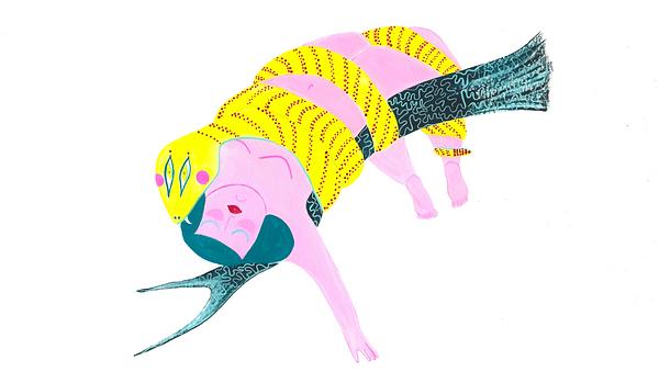 Illustration of Eve & The Serpent HC Gordon