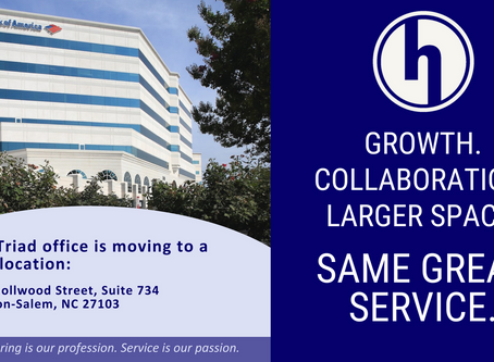 HIGHFILL's Triad Office Has Moved!