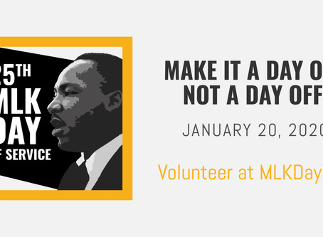 Celebrating the 25th Annual MLK Day of Service in the Carolinas