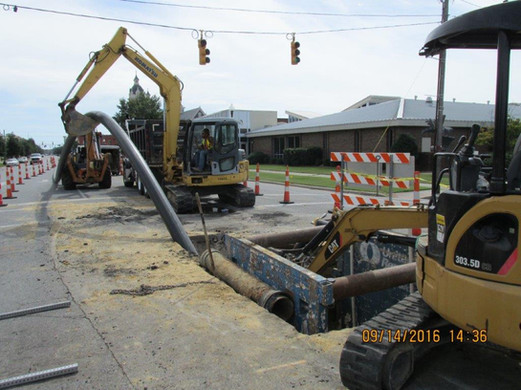KIN1401- Queen Street Sewer Rehab - Pipe
