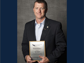 HIGHFILL President Receives Arthur Sidney Bedell Award