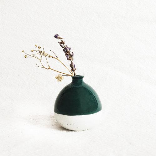 Mini Vase-Moss Green