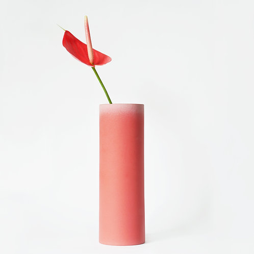 The Tubular - Tall Vase (Imperial Red)