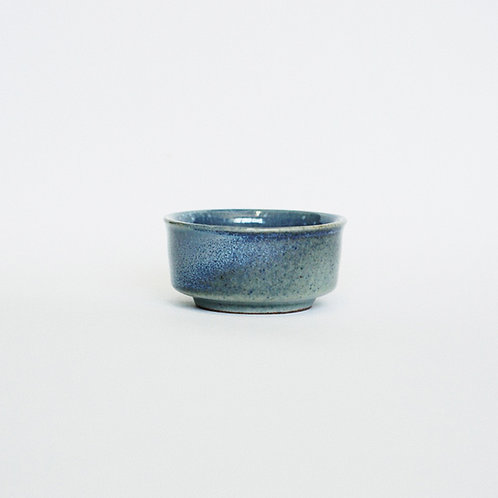 Flambe Glaze Tea Cup- Sea Foam Blue