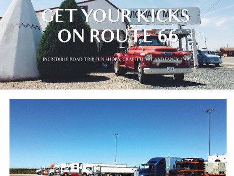 Get your kick on Route 66
