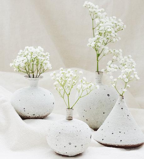 Vintage Speckle Mini Vase