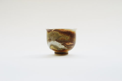 Wood-Fired  Ceramic  Tea Cup