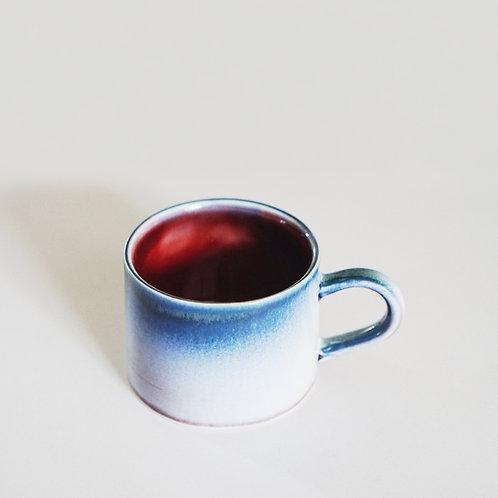 Flambe Glaze Mug- Galaxy Blue