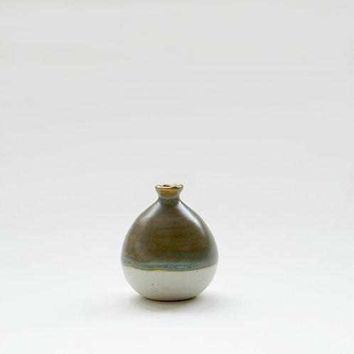 Mini Vase-Vintage Green