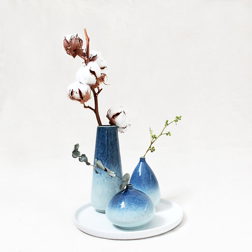 Galaxy Glaze Vases Set
