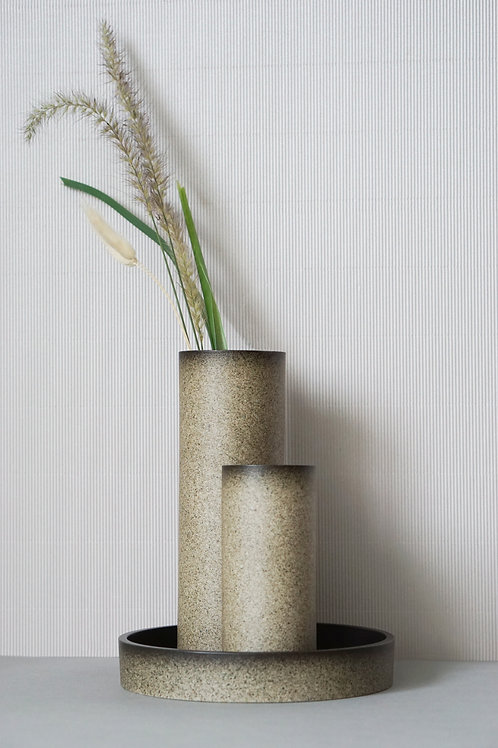The Tubular Vase Set (Cove Grey)