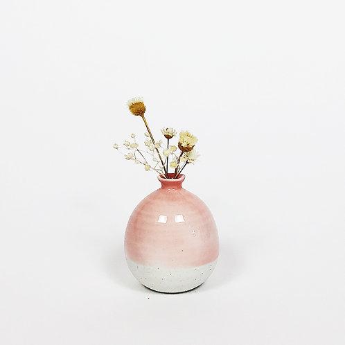 Mini Vase-Coral Red