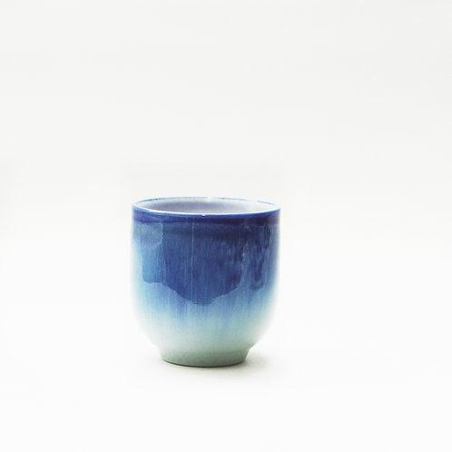 Flambe Glaze Cup-Hare's Fur Blue