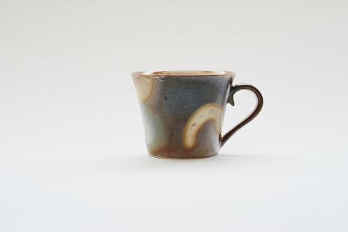 Wood-Fired Ceramic Mug(Wider Rim)