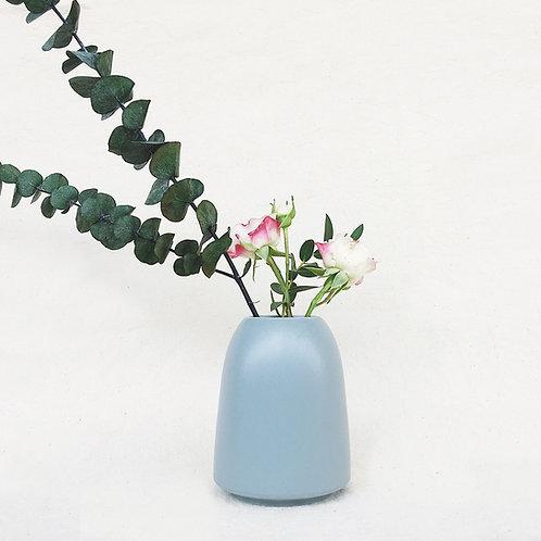 Nordic Matt Vase -Cylinder with Wide Rim